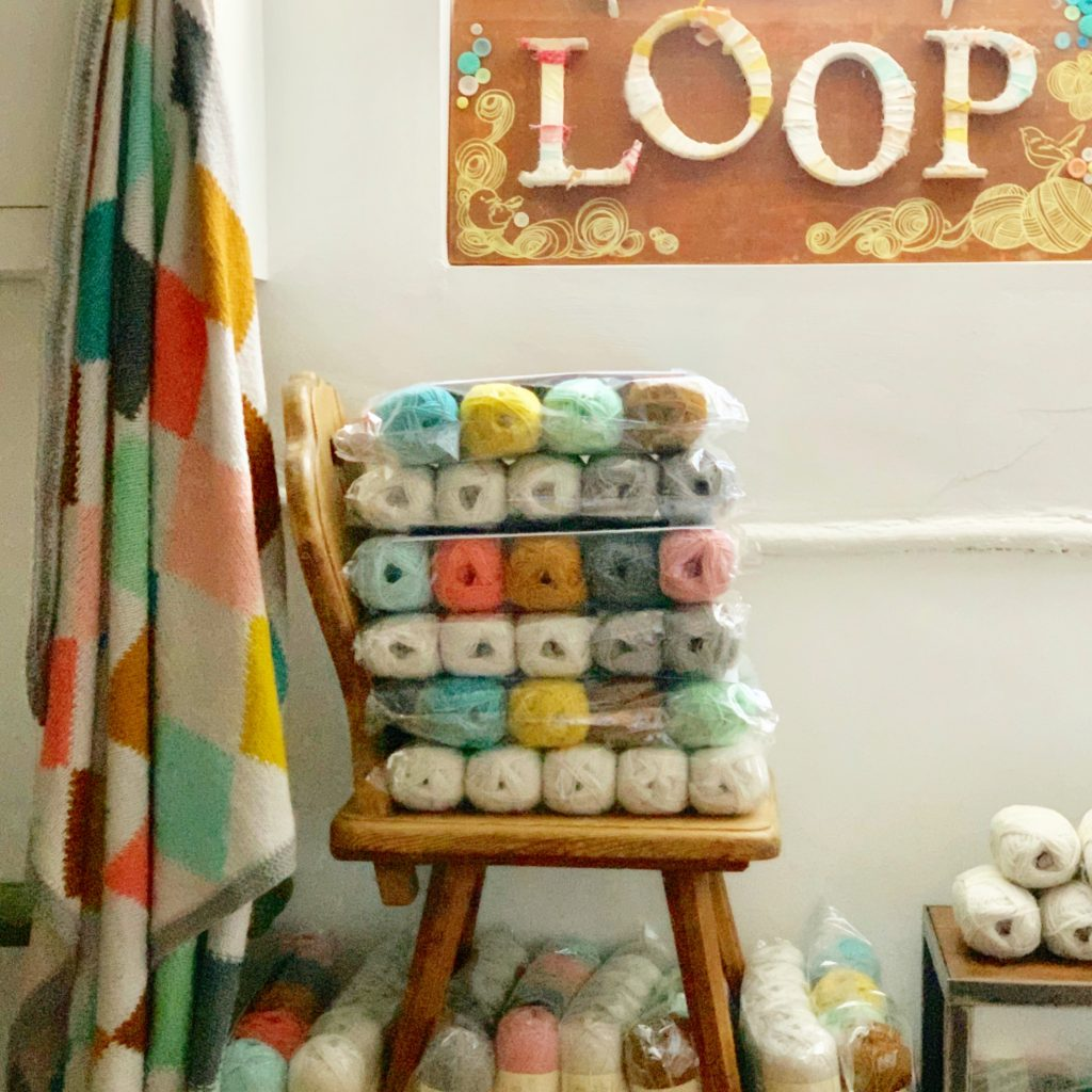Harlequin Blanket Kits at Loop London
