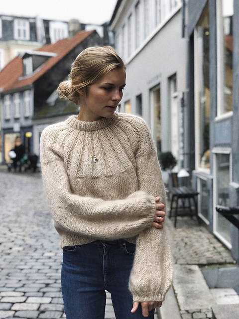 Sunday Sweater by PetiteKnit at Loop London