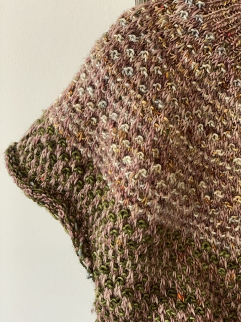 Bronte's Shifty Sweater in Madelinetosh at Loop London