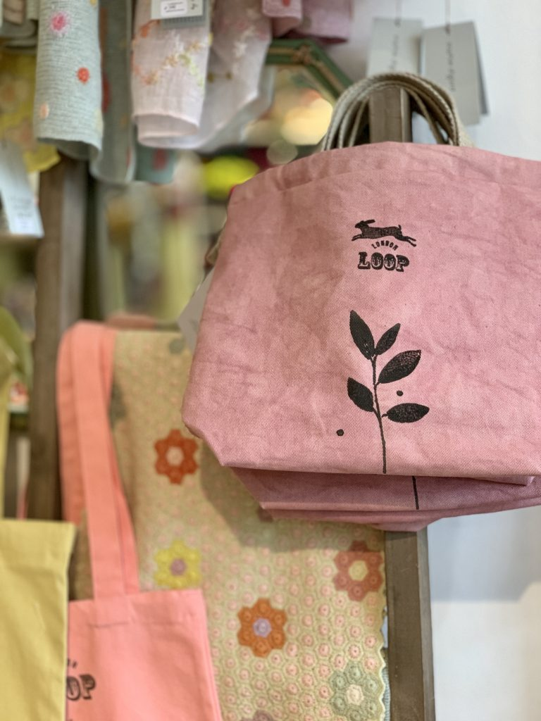 Kaliko projects bags in store at Loop London