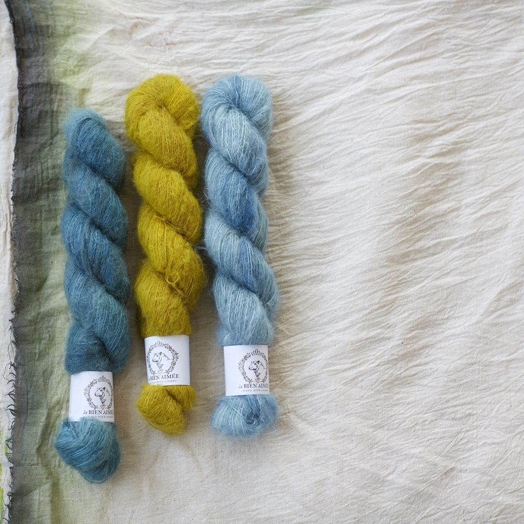 La Bien Aimee Kumo Yarn at Loop London