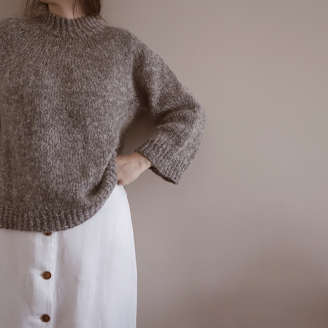 Versatile Sweater by Gregoria Fibres on Ravelry