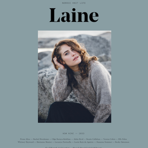 Laine issue 9 at Loop London