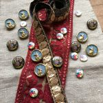 Embellishments - ribbons and buttons at Loop London