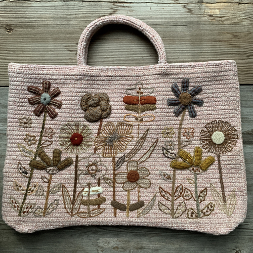 Sophie Digard crocheted bag at Loop Londo