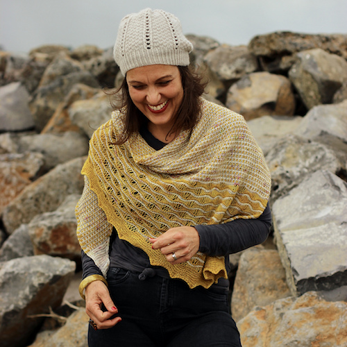 Siren Song Shawl Kit at Loop London