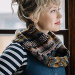 Moonwake Cowl by Andrea Mowry photographed by Peter Mowry