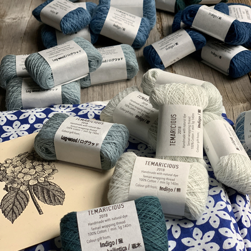 Temaricious Indigo Bundles at Loop London