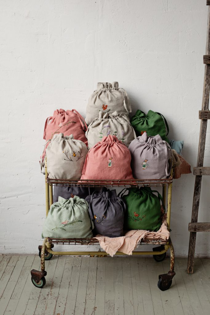 All The Beautiful Linen at Loop London