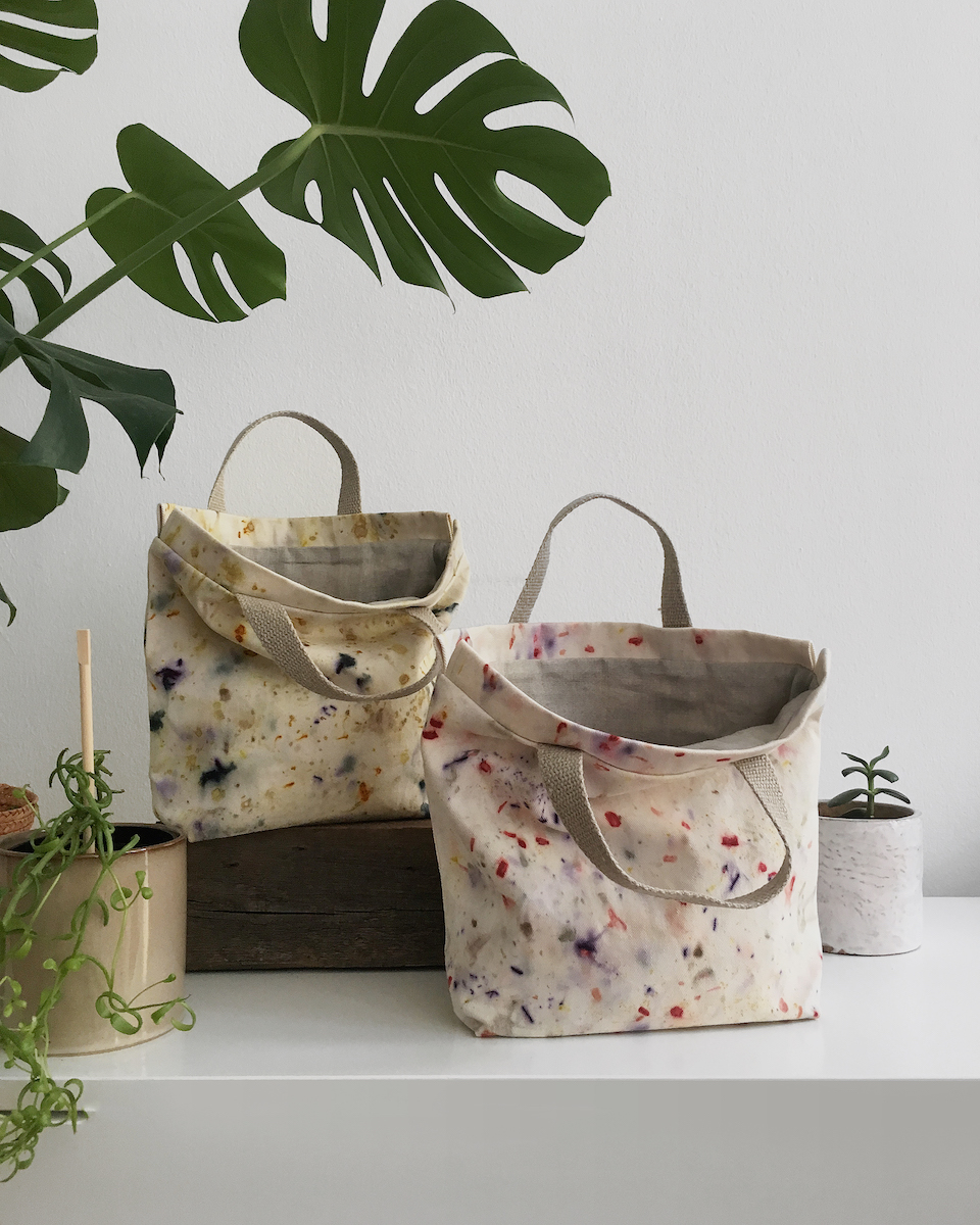 Wonderful handmade project bags + Meet the Maker: Paola of mYak