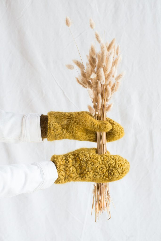 Late Bloomer Mittens at Loop London